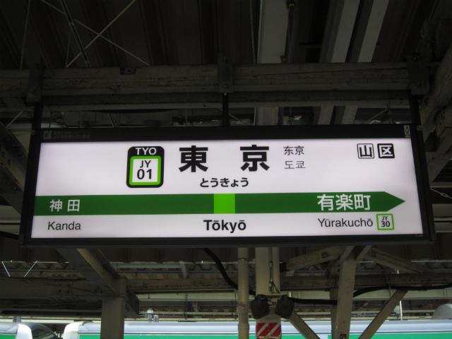 東京山手駅名