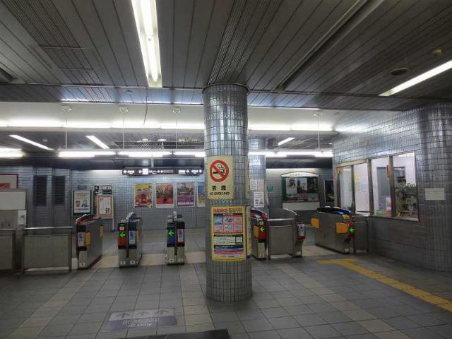 大阪ビジネスパーク 改札