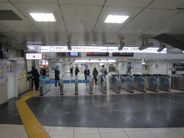 東京海幹南乗り換え入場