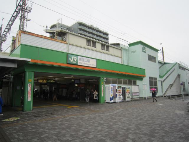 南流山武蔵野駅舎
