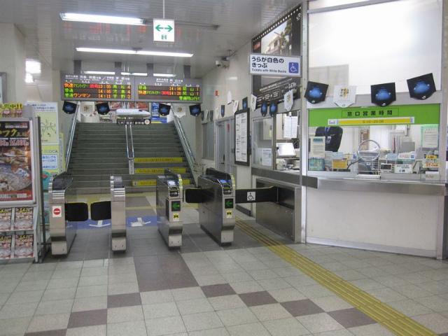 茶屋町駅 改札