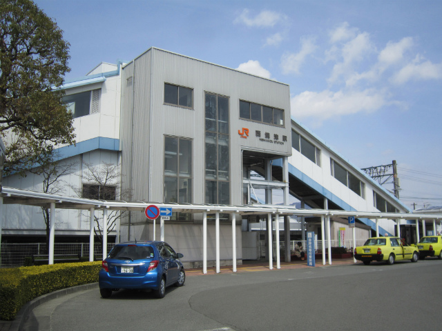 西焼津駅舎