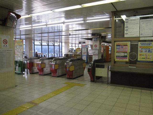 八尾南駅 改札