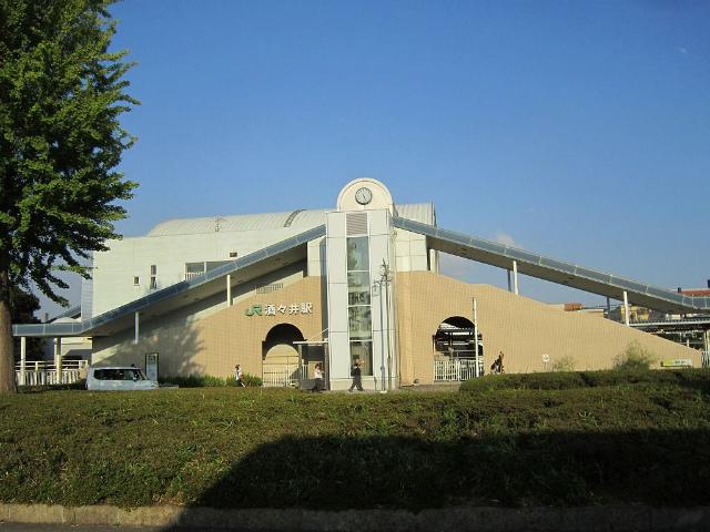 酒々井駅舎