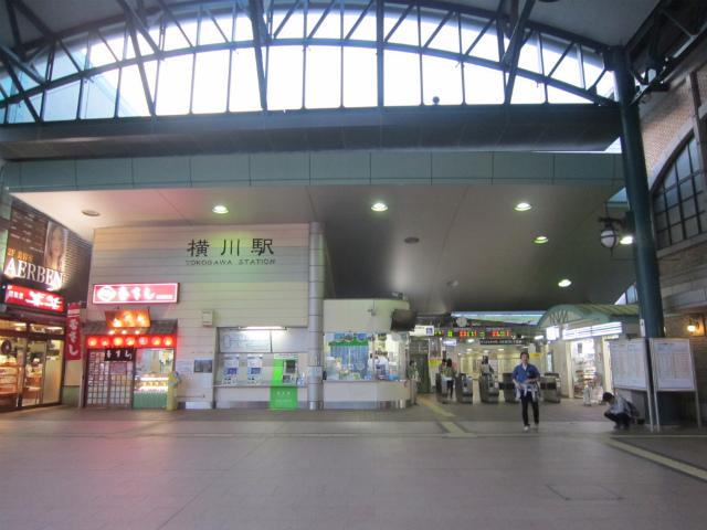 横川南口駅舎