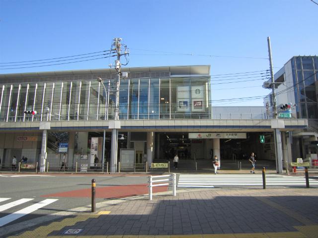 大井町西口駅舎