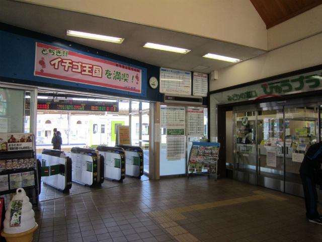 石巻駅舎内部