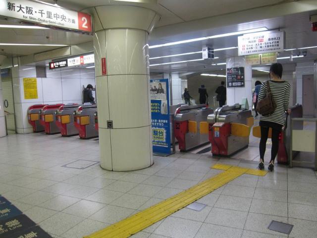 梅田(御堂筋)南 2乗り場