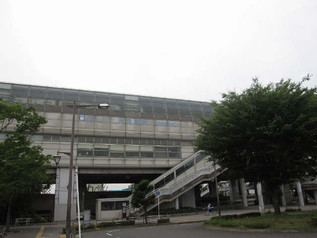 沢良宜駅 駅舎