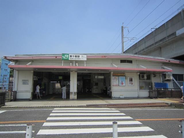 東十条南駅舎