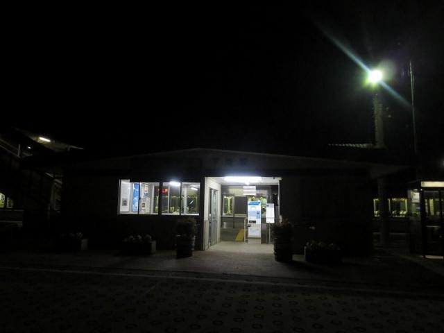 下滝 駅舎