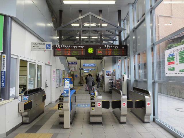 円町 改札