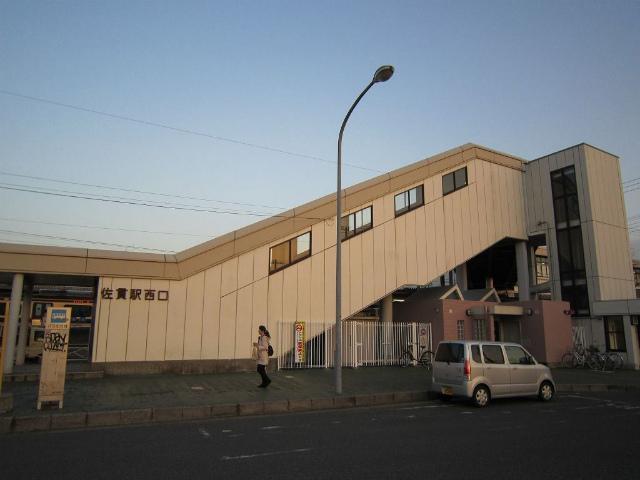 佐貫西口駅舎