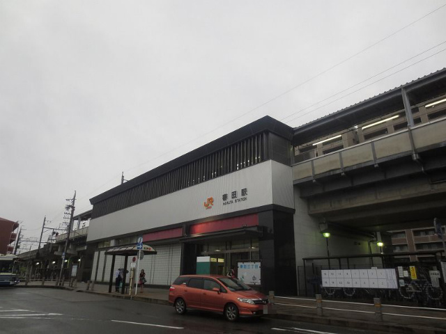 春田 駅舎