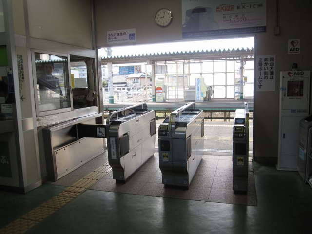 高島駅 北口