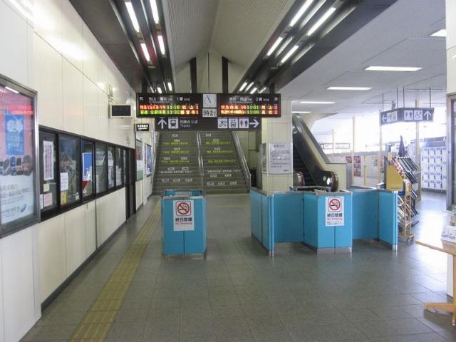 丸亀駅 改札