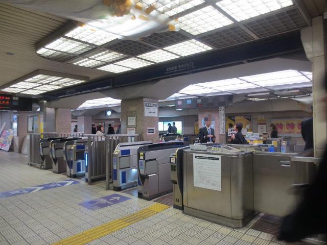 淀屋橋 京阪中央改札 入口