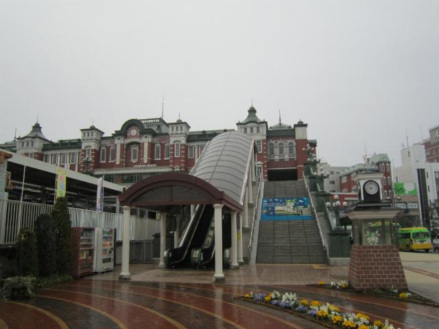 深谷駅舎遠景