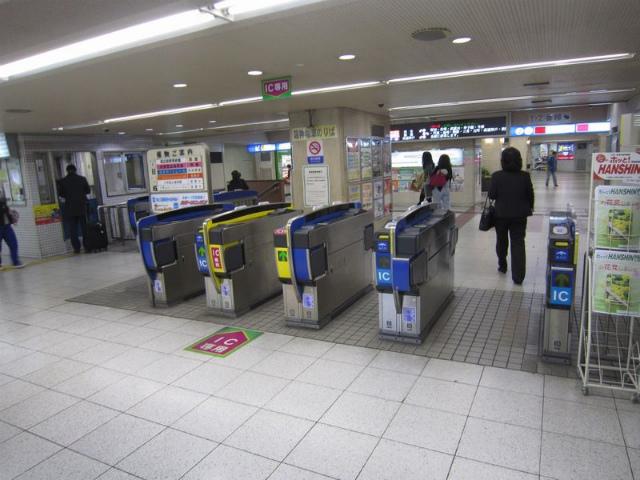 阪神梅田第2改札