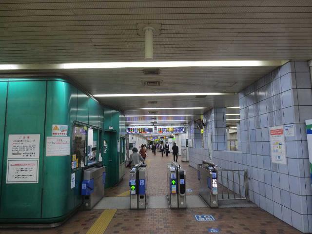 新神戸 地下鉄1