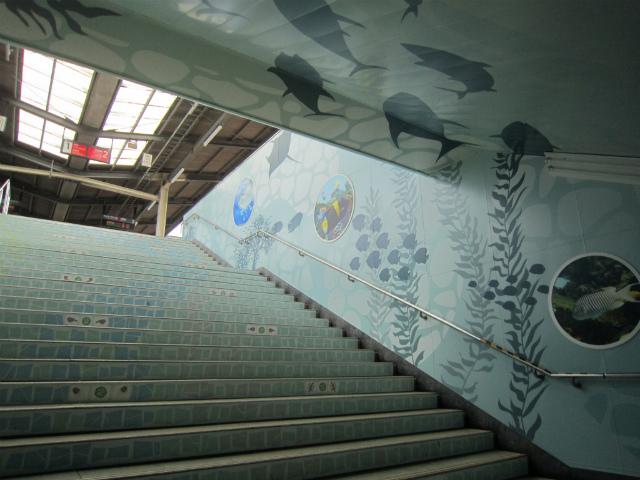 葛西臨海公園壁