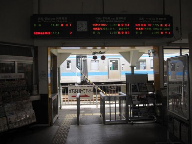 多度津駅 改札