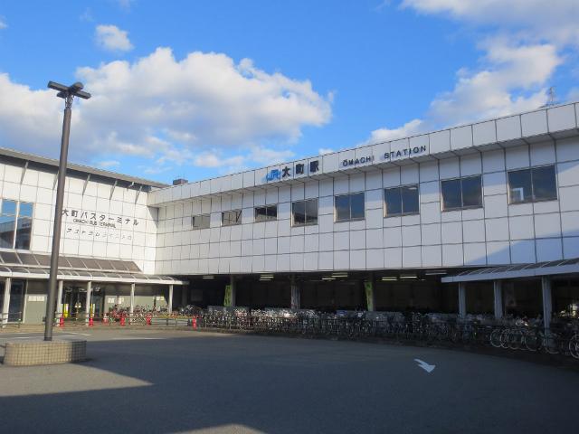大町 駅舎