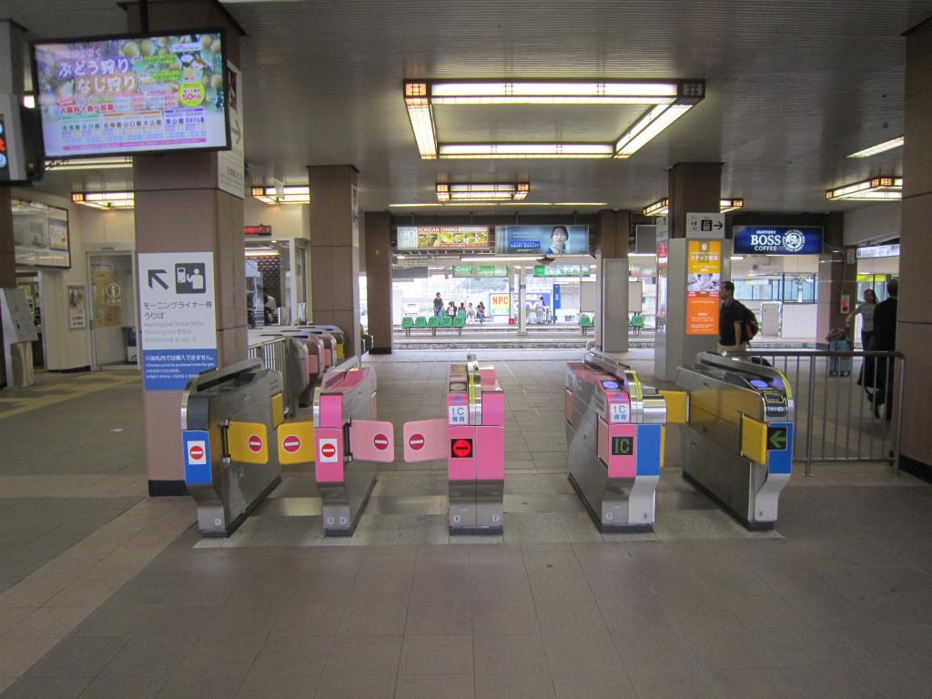 成田京成改札1
