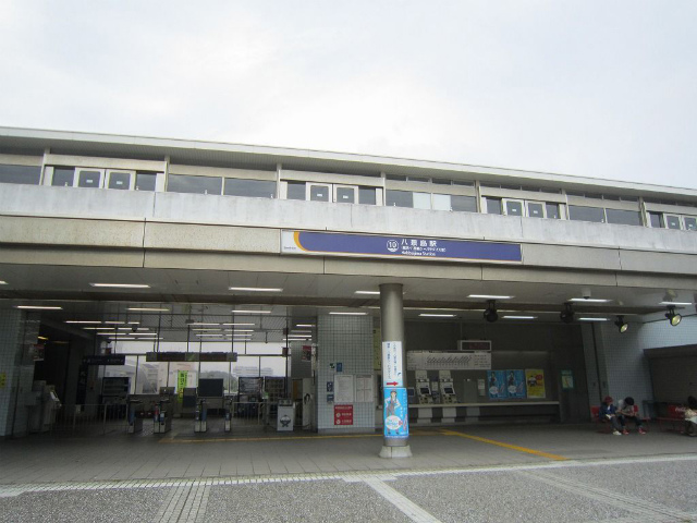 八景島駅舎