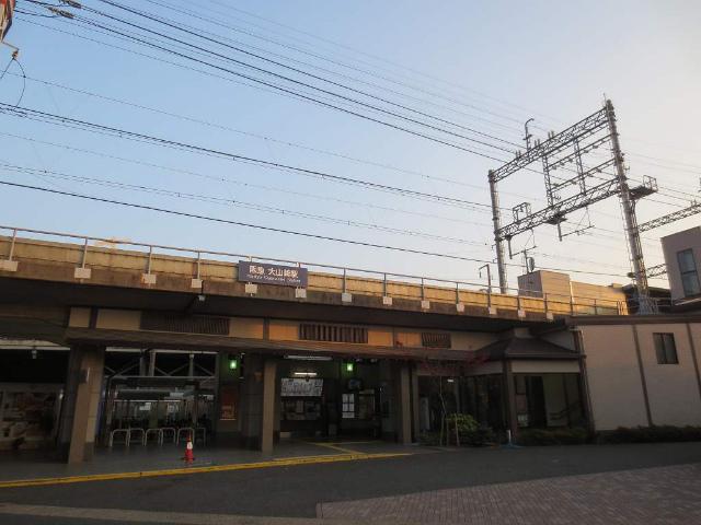 大山崎 駅舎