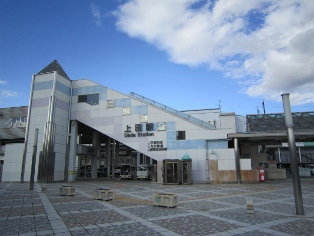上田南駅舎