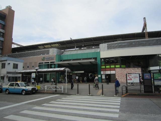 阿佐ヶ谷南駅舎遠景