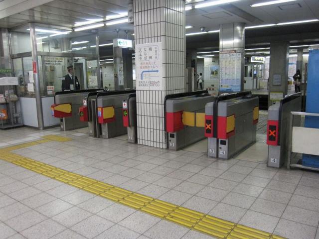 あびこ駅 北東改札