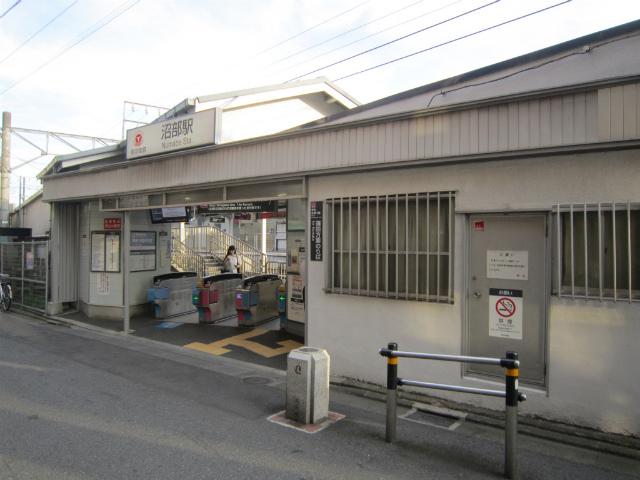 沼部蒲田駅舎