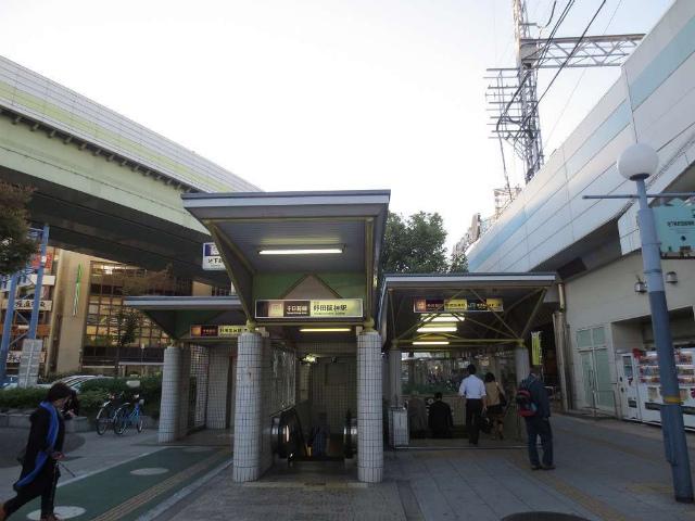 海老江 駅舎