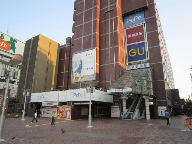 新宿西武駅舎