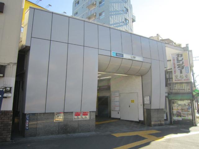 三ノ輪駅舎