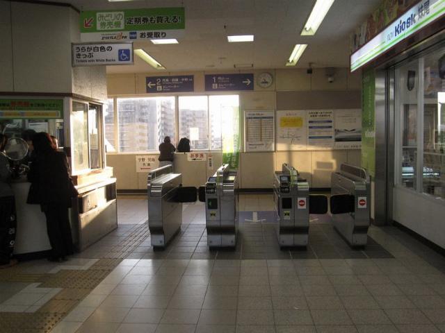 妹尾駅 改札