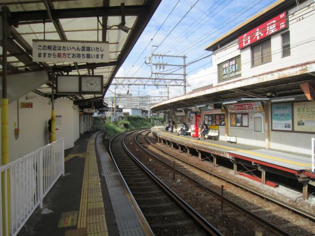 膳所京阪ホーム