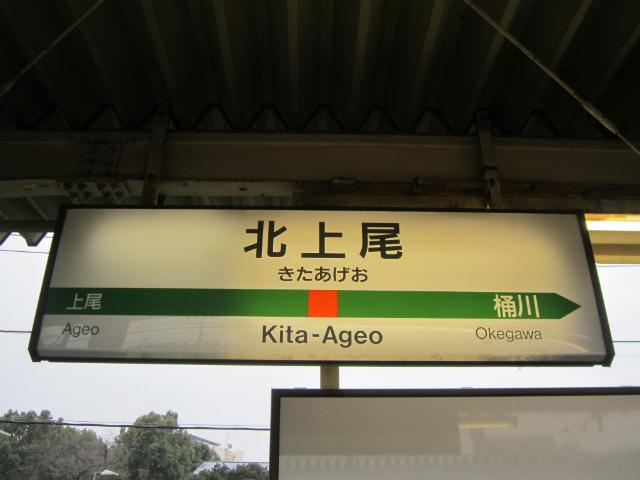 北上尾駅名