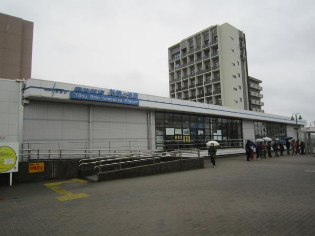 新鎌ヶ谷野田線駅舎