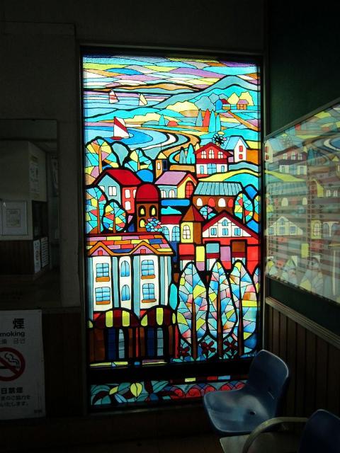 羽鳥ステンドグラス