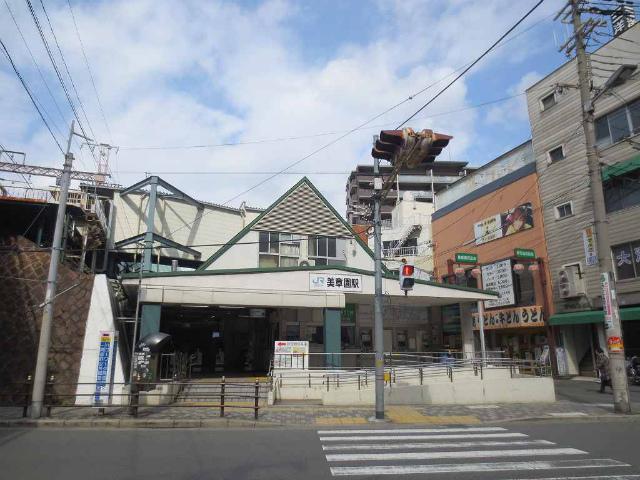 美章園 駅舎