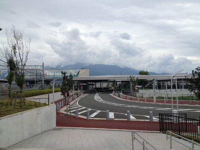 竜王駅舎昇竜峡