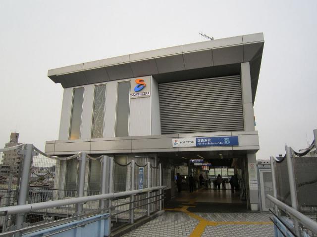 西横浜駅舎横