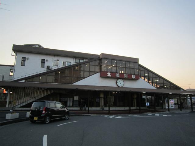 北鴻巣駅舎