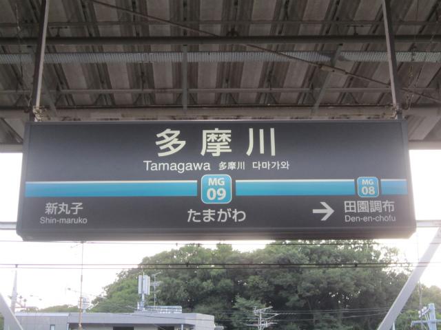 多摩川目黒駅名