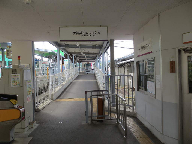 伊賀神戸 伊賀鉄道改札