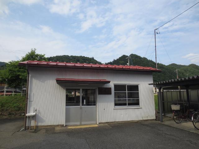 杉崎 駅舎