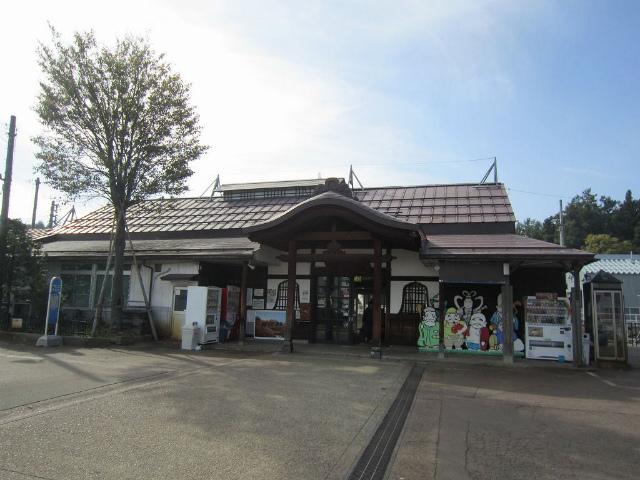 飯山旧駅舎